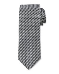 Hugo Boss Neat Silk Tie Gray