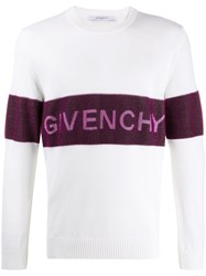 Givenchy Mid Panelled Logo Jumper 60