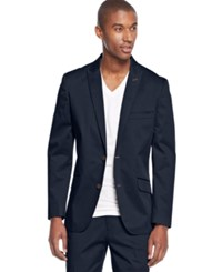 Inc International Concepts Collins Slim Fit Blazer Only At Macy's Navy