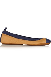 Yosi Samra Fold Up Leather Ballet Flats
