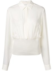Sportmax Fitted Shirt White