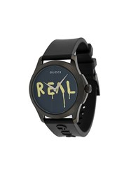 Gucci Ghost Watch Black
