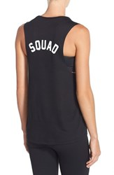 Women's Private Party 'Squad' Muscle Tank Black