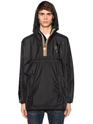 Dsquared K Way Reversible Nylon Rain Jacket