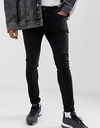 Cheap Monday Tight Skinny Jeans In Black Haze