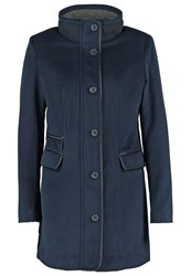 More And More Classic Coat Marine Dark Blue