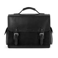Aspinal Of London Shadow Convertible Briefcase Black