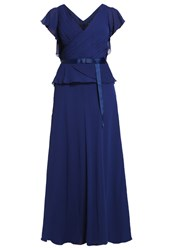 My Mascara Curves Core Maxi Dress Navy Dark Blue
