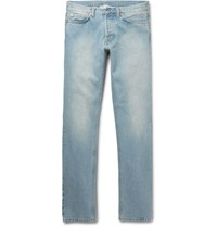 Our Legacy Slim Fit Faded Washed Denim Jeans Blue