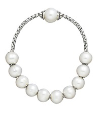 Honora Style Sterling Silver Freshwater Pearl Bracelet Pearl Silver