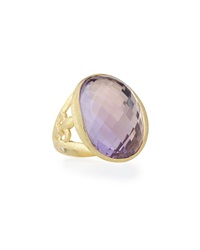Jude Frances Classic 18K Lavender Amethyst Ring