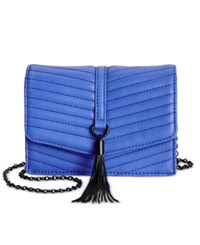 Inc International Concepts Mini Yvonn Crossbody Only At Macy's Cobalt
