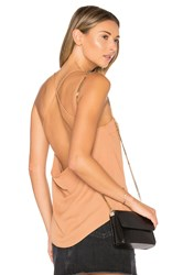 By The Way. Gracie Cowl Top Tan