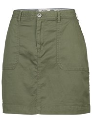 Fat Face Cordelia Utility Skirt Dusty Peridot