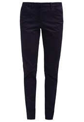 Tom Tailor Mia Chinos Deep Navy Blue Dark Blue