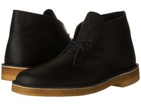 Clarks Desert Boot Navy Tumbled Leather Men's Lace Up Boots
