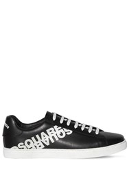 Dsquared New Tennis Leather Sneakers Black