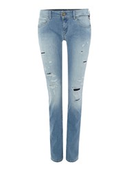 Replay Rose Skinny Fit Jeans Blue