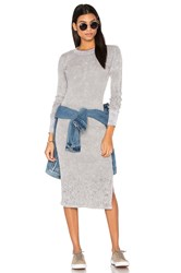 Cotton Citizen Monaco Midi Dress Gray