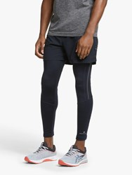 Ronhill Stride Stretch Running Tights All Black