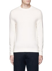 Theory Donners C' Cashmere Sweater White