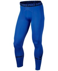 Nike Men's Pro Compression Logo Tights Paramount Blue