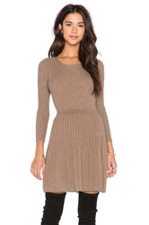 Joie Peronne Long Sleeve Sweater Dress Brown