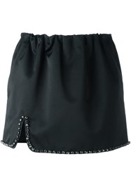 N 21 No21 Crystal Embellished Mini Skirt Black