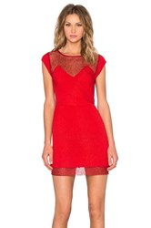 The Kooples Mini Dress Red