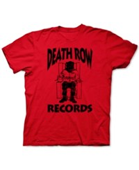 New World Death Row Records Graphic T Shirt Red Heather