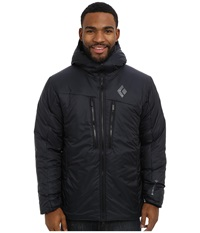 Black Diamond Stance Belay Parka Black Men's Clothing
