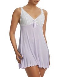 Felina Lace Appeal Chemise Sheer Lilac