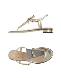 O Jour Thong Sandals Platinum