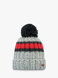 Barts Darrin Beanie One Size Heather Grey