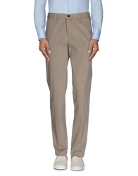 Shaft Trousers Casual Trousers Men Beige