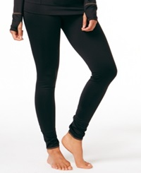 Cuddl Duds Smooth Plush Leggings Black
