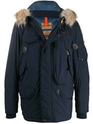 Parajumpers Padded Parka Coat Blue