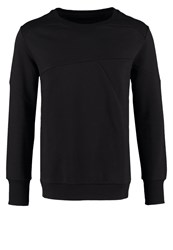 Tiger Of Sweden Jeans Zig Sweatshirt Black Mottled Black