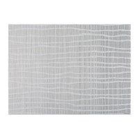 Chilewich Float Rectangle Placemat Fog