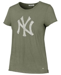 47 Brand '47 Women's New York Yankees Olive Fader T Shirt