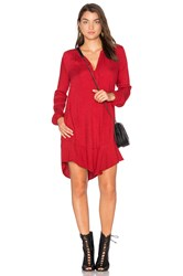 Velvet By Graham And Spencer Olgita Mini Dress Red