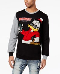 Reason Men's Graphic Print Sweatshirt Black