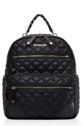 M Z Wallace Mz Small Crosby Backpack Black