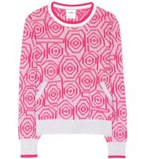 Barrie Knitted Cashmere Sweater Multicoloured