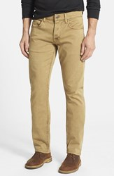 Hudson Jeans Men's 'Byron' Slim Straight Leg Raw Umber