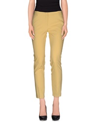 Kaos Casual Pants Light Yellow
