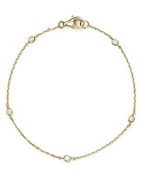 Aqua Sterling Silver Thin Chain Bracelet 100 Exclusive Gold