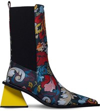 Marques Almeida Brocade Ankle Boots Mult Other
