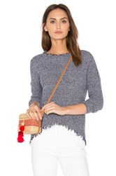 Generation Love Joni Fringe Sweater Navy