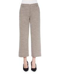 Helmut Lang Cropped Wide Leg Dress Pants